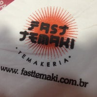 Photo taken at Fast Temaki by 🌸 Evelyn D. on 11/8/2012
