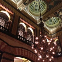 Photo taken at Pera Palace Hotel Jumeirah by The Guide Istanbul on 11/10/2012