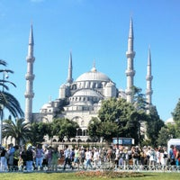 Photo taken at Blue Mosque by Dmitry F. on 6/22/2013