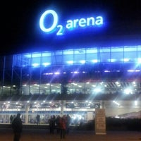 Photo taken at O2 arena by Barbora D. on 11/18/2012