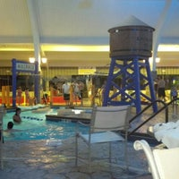 Photo taken at Ramada Williamsburg and Wasserbahn Waterpark Resort by Melissa M. on 9/30/2012