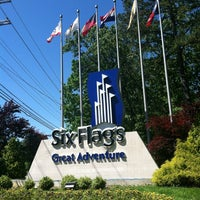 Photo taken at Six Flags Great Adventure by Joni on 5/26/2013