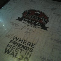 Photo taken at Lew's Grill & Bar by Erika on 10/19/2012