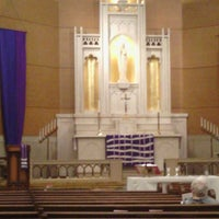 Photo taken at Christ Lutheran Church - State Capitol by Aaron W. on 3/29/2015