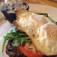 Photo taken at Irregardless Cafe by Kelsey H. on 7/26/2013