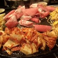 Photo taken at Honey Pig Korean BBQ by Yoonsuh K. on 1/7/2013