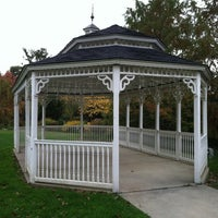 Photo taken at Bryn Mawr Gazebo by Mark R. on 10/27/2012