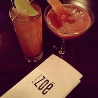 Photo taken at Restaurant Zoë by Ashley H. on 2/10/2013