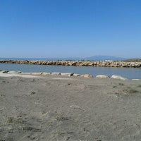 Photo taken at Spiaggia del Gabbiano by Aida C. on 3/3/2013