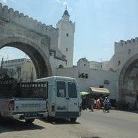 Photo taken at Bab al Khadhra by Mariem on 7/20/2013