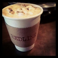 Photo taken at Redline Coffee and Espresso by Edmond W. on 1/5/2013