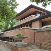 Photo taken at Frank Lloyd Wright Robie House by Tom L. on 5/27/2013