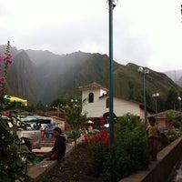 Photo taken at Hacienda Huayocari by Joel M. on 12/8/2013