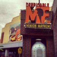 Photo taken at Despicable Me: Minion Mayhem by Sofia M. on 7/17/2013