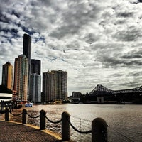Photo taken at Eagle Street Pier Ferry Terminal by Nick H. on 3/7/2013