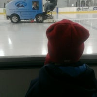 Photo taken at Lou & Gib Reese Ice Arena by Aaron K. on 3/19/2013