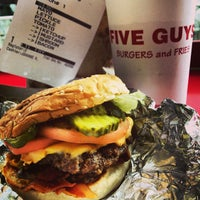 Photo taken at Five Guys by Carlo Z. on 7/21/2013