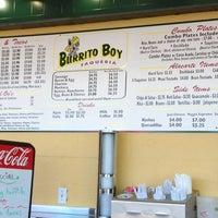 Photo taken at Burrito Boy Taqueria by Zoe on 6/21/2013