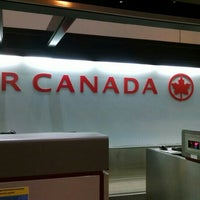 Photo taken at Air Canada Ticket Counter by Melissa on 10/27/2015