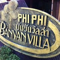 Photo taken at Phi Phi Banyan Villas by Eddie S. on 3/14/2013