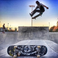 Photo taken at Sunnyvale Skate Park by Rich on 3/7/2015