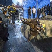 Photo taken at Burnside Skate Park by Rich on 11/17/2015