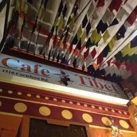 Photo taken at Cafe Tibet by Elizabeth P. on 2/19/2014