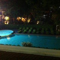 Photo taken at Golden Beach Hotel by Vyacheslav on 11/28/2012