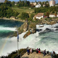 Photo taken at Rheinfall by Ray S. on 9/24/2013