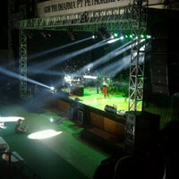 Photo taken at GOR Tridharma by Meme on 10/5/2012