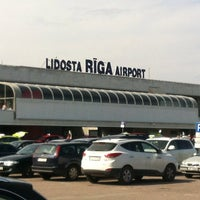 Photo taken at Riga International Airport (RIX) by Cristo P. on 7/29/2013