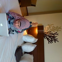 Photo taken at Hotel Santika Bangka by AISAH K. on 1/26/2013