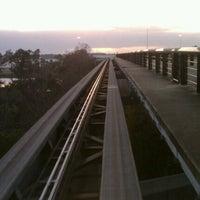 Photo taken at Tram To Gates 60-99 by Jared M. on 1/1/2013