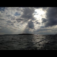 Photo taken at Narragansett Bay by Riley on 11/13/2012