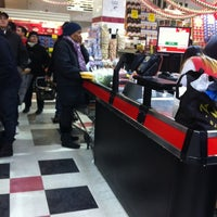 Photo taken at C-Town Supermarkets by Barbara on 12/14/2013