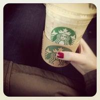 Photo taken at Starbucks by Paulina on 3/23/2013