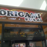 Photo taken at Origami Sushi by Fabiola K. on 11/21/2012