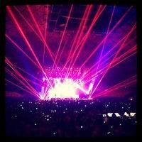 Photo taken at Movistar Arena by Carola on 4/3/2013
