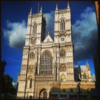 Photo taken at Westminster Abbey by Adam H. on 7/28/2013