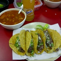 Photo taken at Tacos El Güero by Khaly K. on 2/3/2013