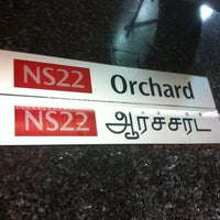Photo taken at Orchard MRT Station (NS22) by Choroco on 2/11/2013