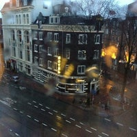 Photo taken at Crowne Plaza Amsterdam City Centre by Ziziprof on 1/27/2013