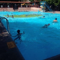 Photo taken at Balneario la Cruz by Luis on 7/31/2014