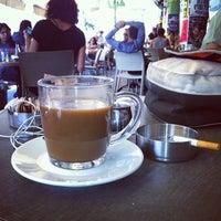 Photo taken at Cafe Tachtit by Alex on 6/27/2013