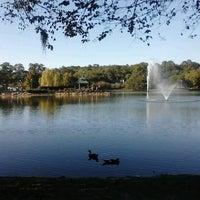 Photo taken at Lake Ella by Rosie L. on 10/20/2012