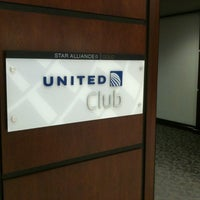 Photo taken at United Club by Eddy on 12/1/2012