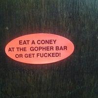Photo taken at Gopher Bar by Pamela J. on 9/19/2012