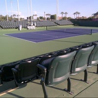 Photo taken at Indian Wells Tennis Garden by Grace O. on 10/9/2012