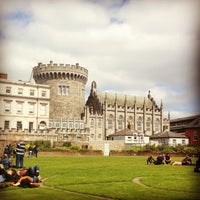 Photo taken at Dublin Castle by Monika P. on 5/5/2013