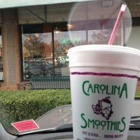 Photo taken at Carolina Smoothies by Amy on 1/5/2013